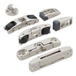 Раздвижные системы для дверей-купе (ролики, наборы фурнитуры)