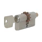 Цилиндровые механизмы Ключ - Короткий шток (с шестерёнкой).